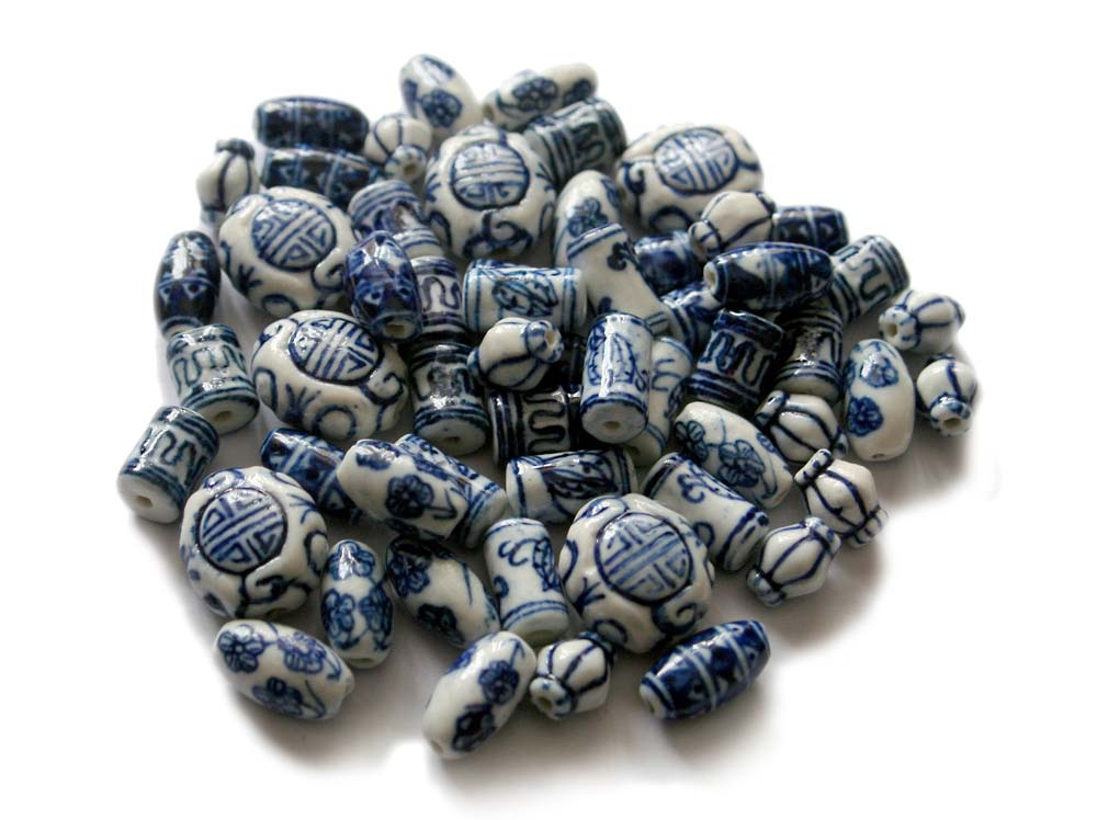 Chinese Porcelain Beads