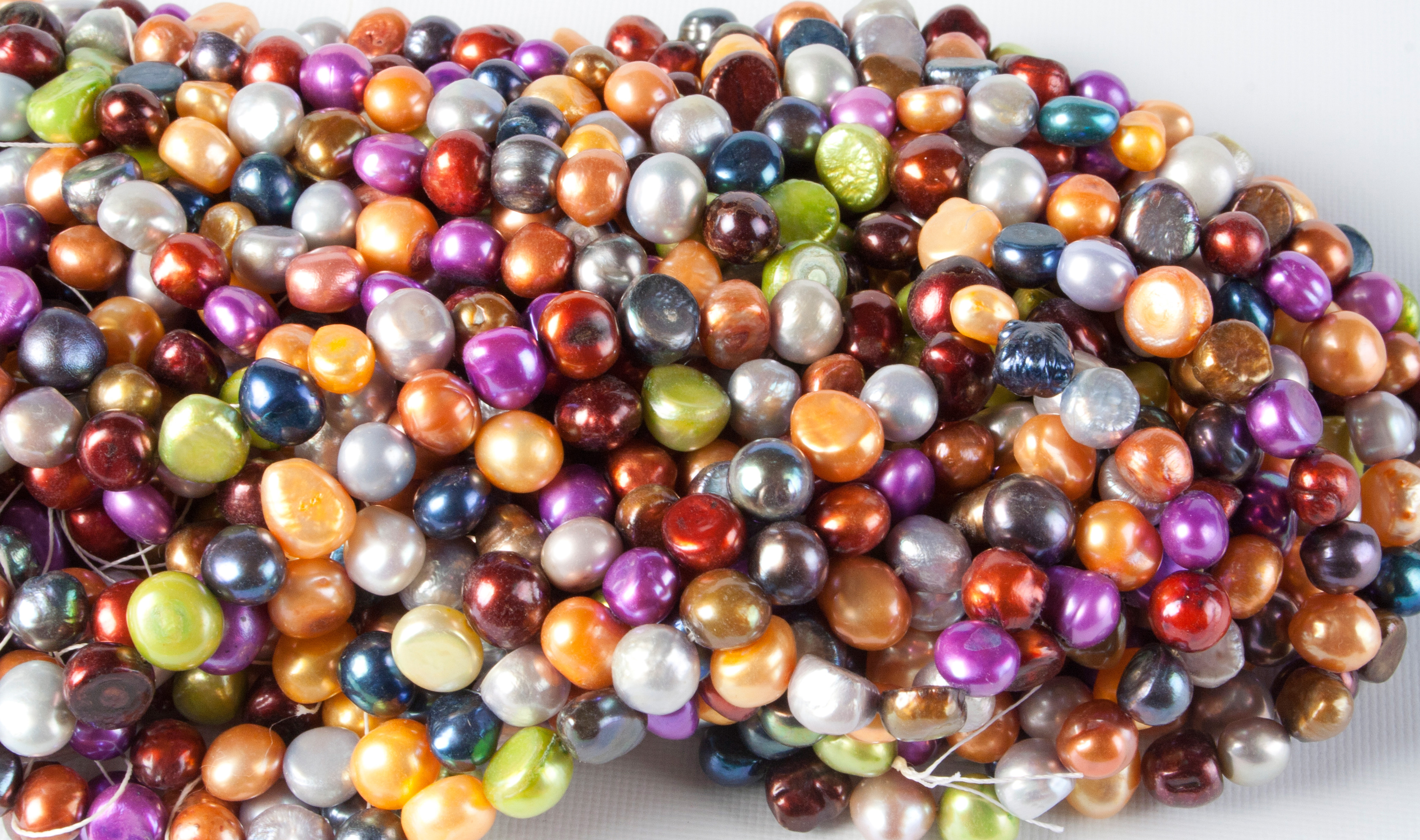 You Can Make Your Own Necklace or Bracelet with Freshwater Pearls