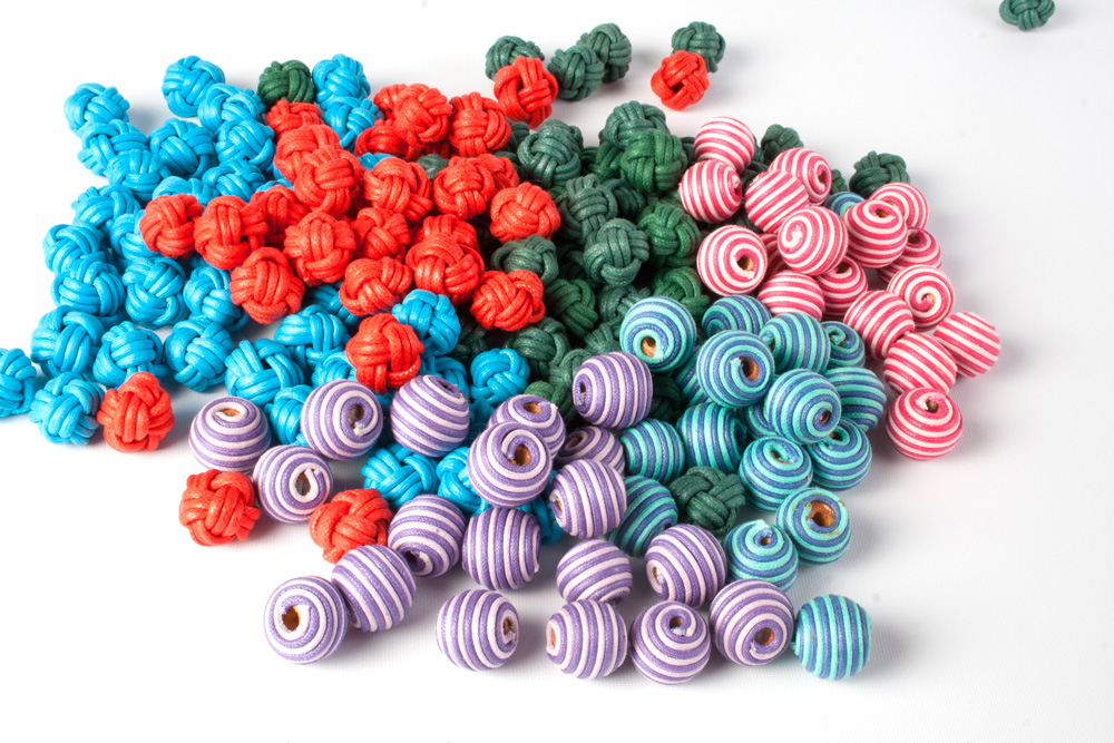 Cotton Cord Beads