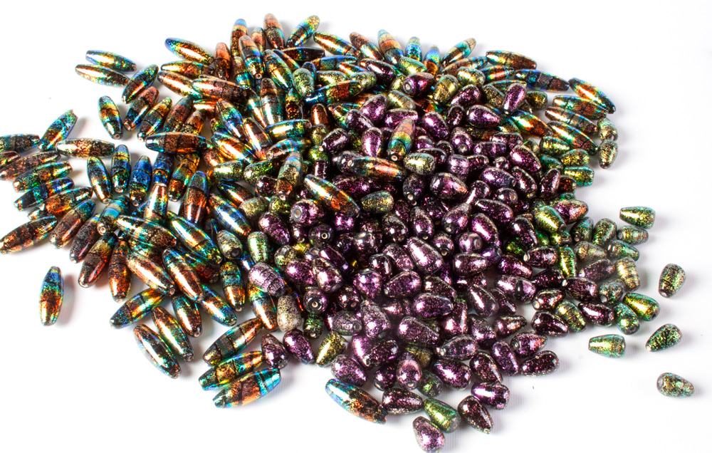 Glass Dichroic Beads