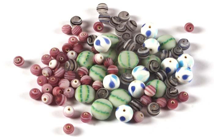 Round Matt Beads