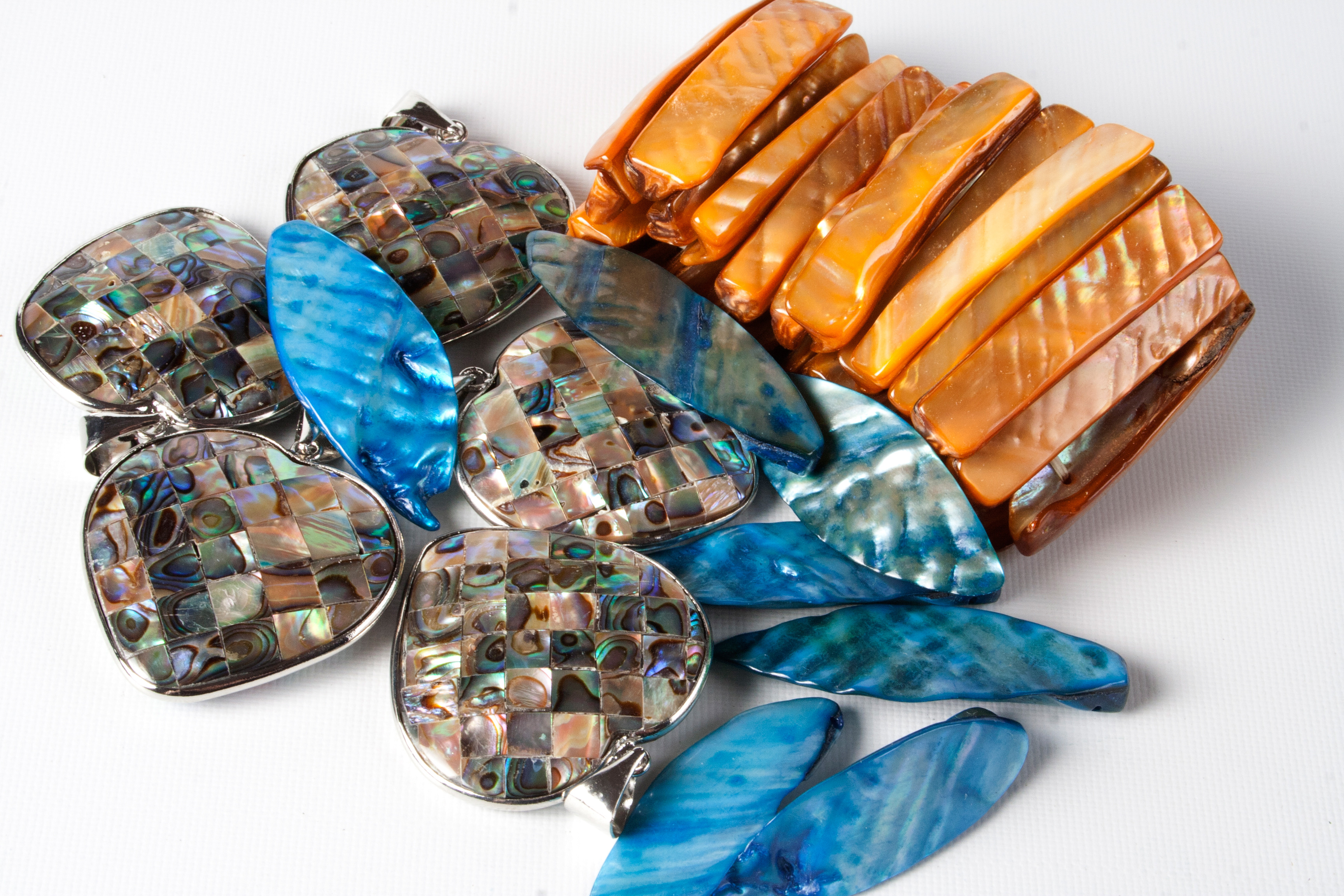 Shell Pendants & Bracelets