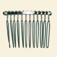 Beadable Hair Comb - 37 x 49mm
