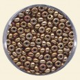 Bronze Glass Rocailles (Special Finish) - Packs of 8/0 Larger