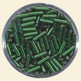 Emerald Glass Bugles - Packs of 8mm x 2mm