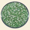 Green Glass Rocailles (Silver Lined) - Packs of 8/0 Larger