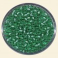 Green Glass Rocailles (Silver Lined) - Packs of 11/0 Small