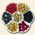 Black, Red & Gold Bead Kit