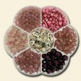 Pink, Purple & Silver Bead Kit
