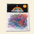 Glitter Loom Band Pack - 200pcs