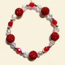 Red Shamballa Christmas Decoration Kit