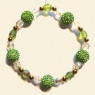Lime Shamballa Christmas Decoration Kit