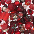 Strawberry Bead Mix - 100 Gram Pack