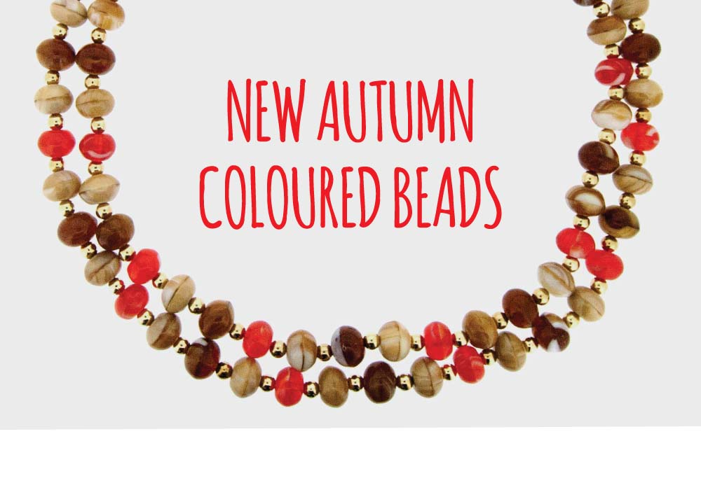 Autumn Coloured Beads