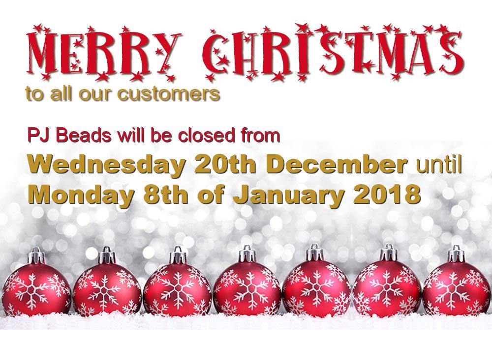 Christmas Closing