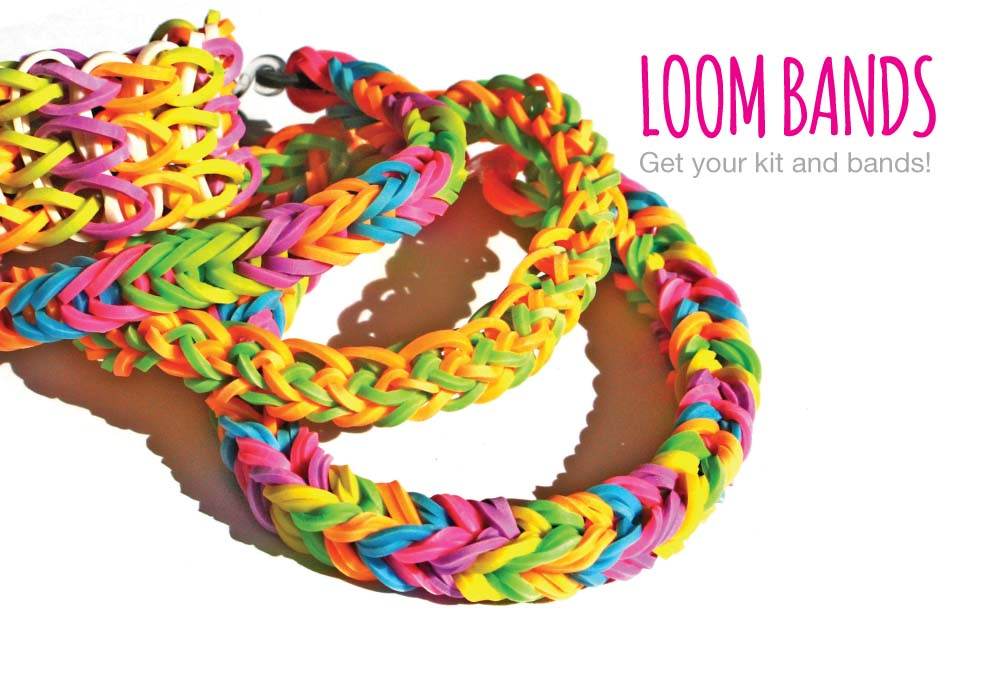 New Loom Band Kits