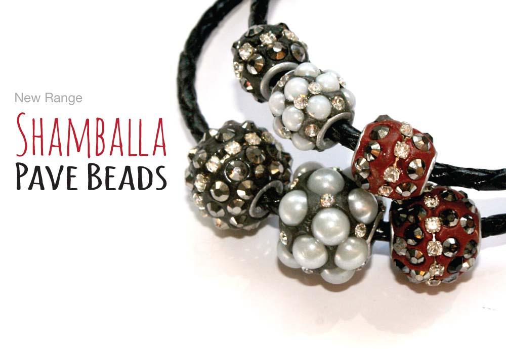 New Shamballa Beads