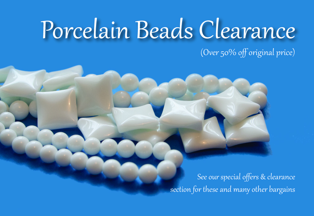 Porcelain Clearance Beads