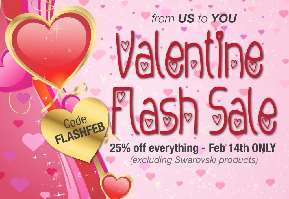 Valentines Flash Sale