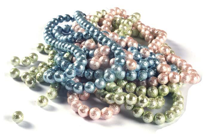 Acrylic Crinkle Beads