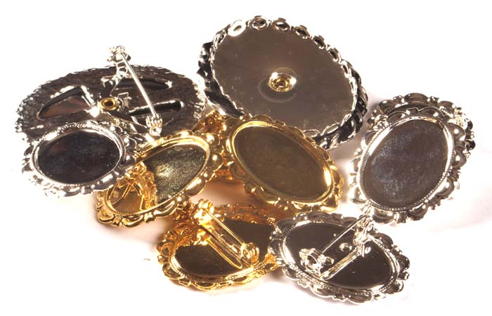 Metal Brooches