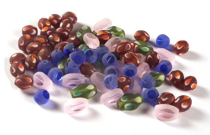 Frosted Beads
