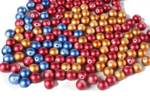 Acrylic Lustre Beads