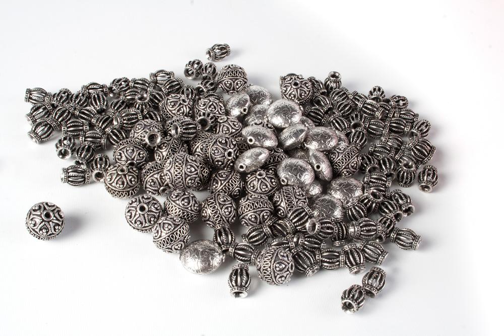 Pewter Beads