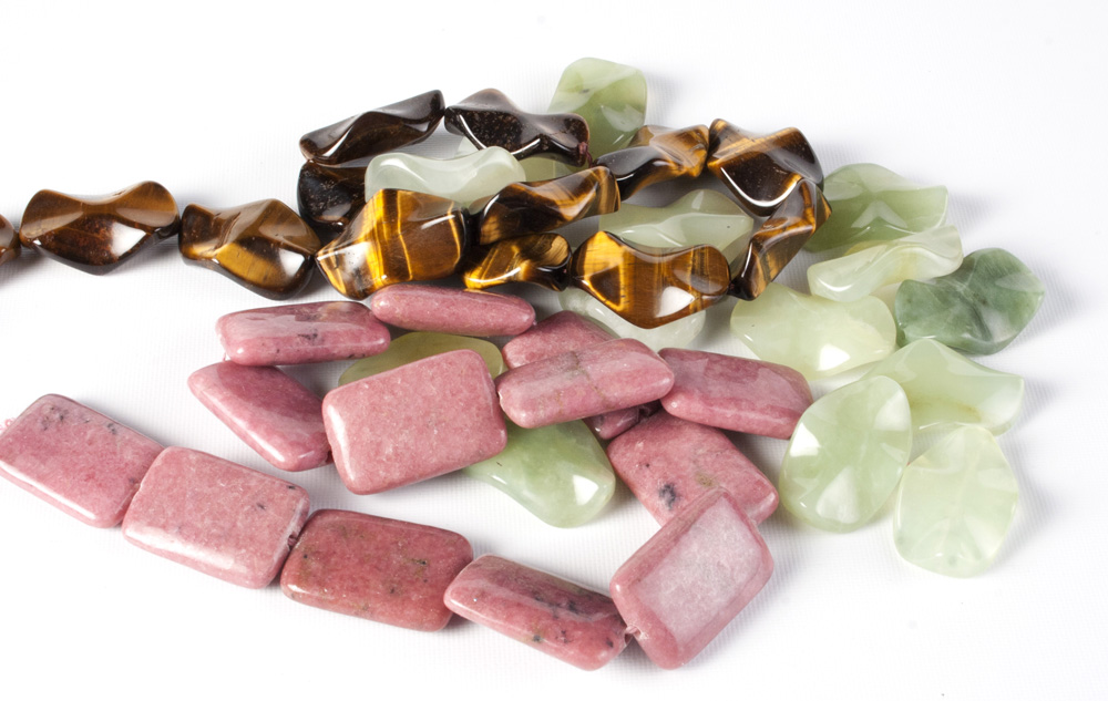 Gemstone Shaped Beads