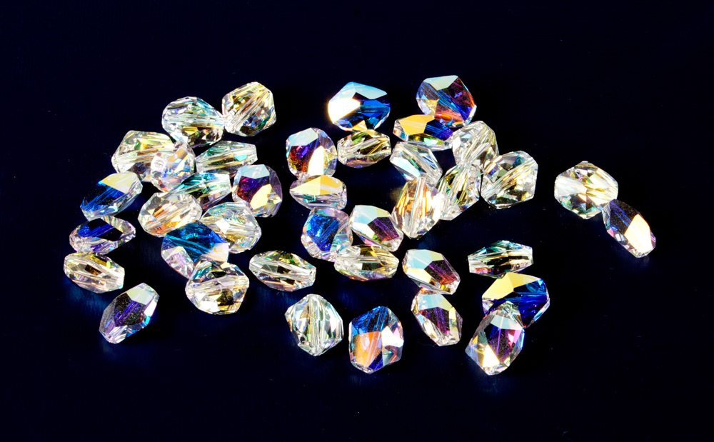 Swarovski Faceted Shaped Beads