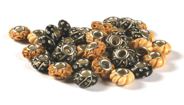 Wood Effect Beads