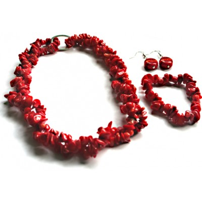Red Bamboo Set