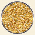 Gold Glass Rocailles (Silver Lined) - Packs of 8/0 Larger