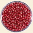 Red Glass Rocailles (Silver Lined) - Packs of 11/0 Small