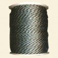 Black/Silver Synthetic Cord - 2mm - Packs