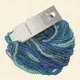 Blue/Aqua Glass Seed Bead Strings