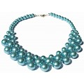 """""""Blue Skies"""" Pearl Necklace"""