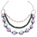 A Touch of Summer Floral Necklace