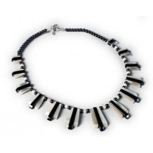 Piano Effect Necklace