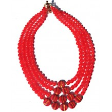Sizzling Hot Orange Necklace